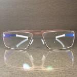 Handgefertigte metallbrille nach maßm