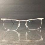 handgemachte metallbrille aus edelstahl