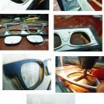 brille in Handarbeit fotoreihe: maßbrille handgemacht für kunden