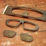 maßbrille: handgemachte holzbrille nach maß